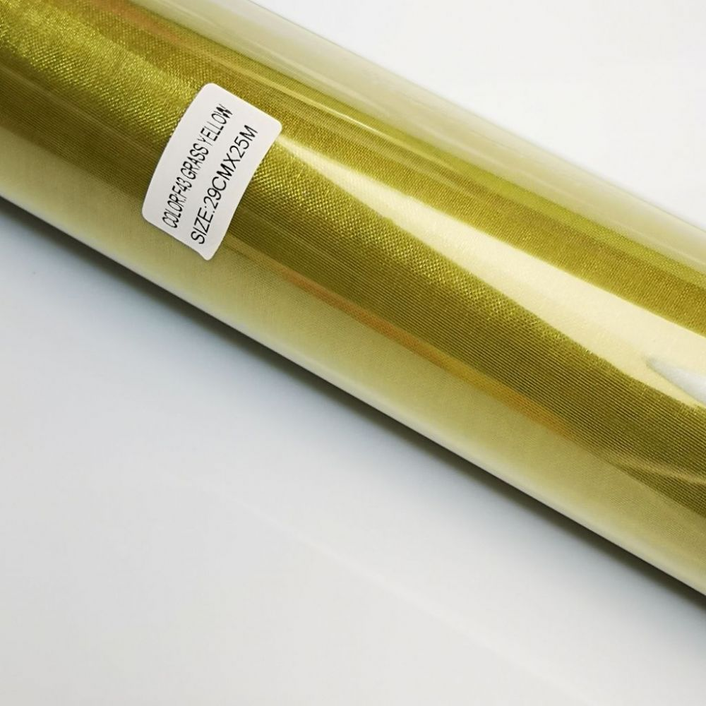 Forest Green Organza Sheer Roll F 43 UK